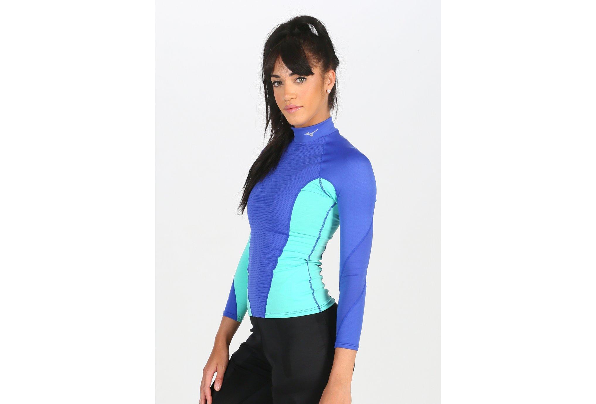 Mizuno Breath Thermo Virtual Body G1 W Diététique Vêtements femme