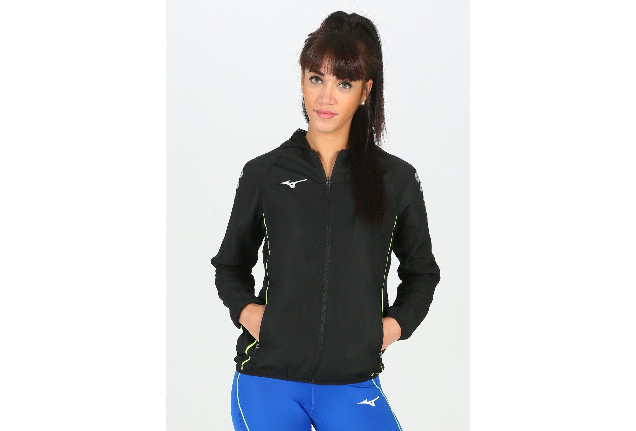 Mizuno Micro Jacket W vêtement running femme