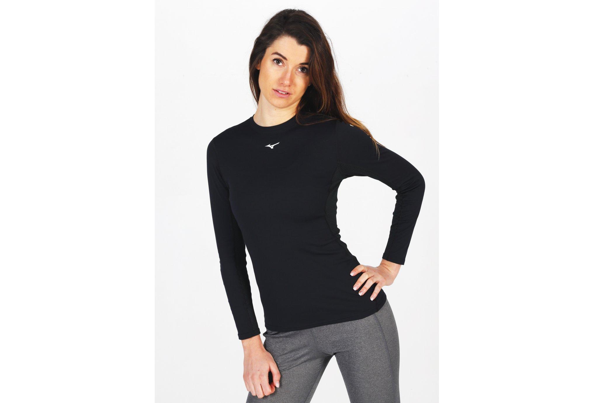 Mizuno Mid Weight Crew W Diététique Vêtements femme