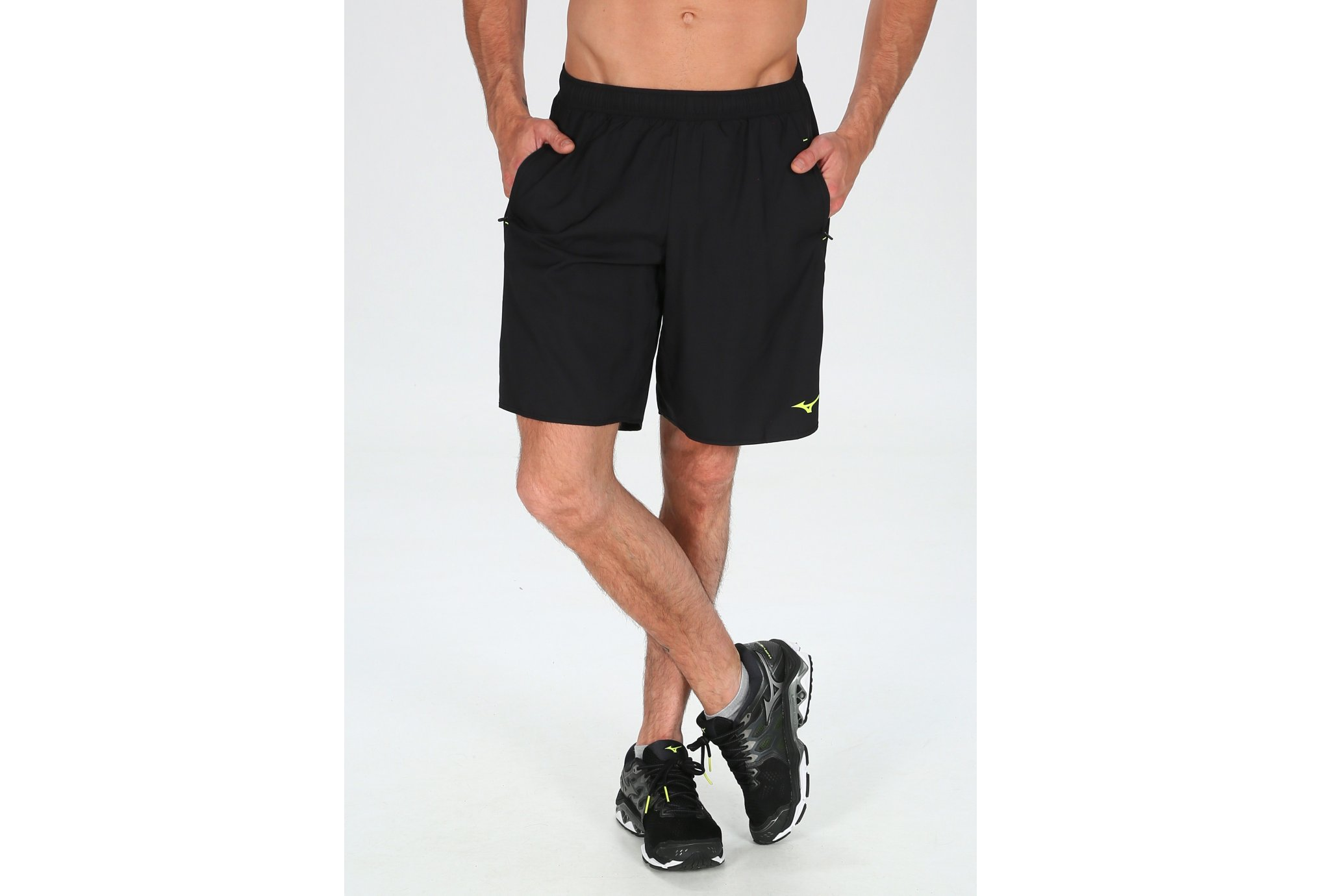 Mizuno Short DryLite Square 8.5 M vêtement running homme