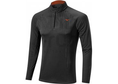 Mizuno Tee-Shirt Breath Thermo Body Mapping 1 2 Zip M pas cher ... f7be1789ff1