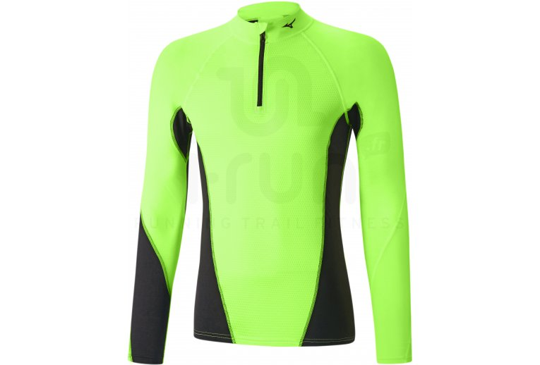 Mizuno Tee-shirt Breath Thermo Virtual Body G1 1/2 zip M
