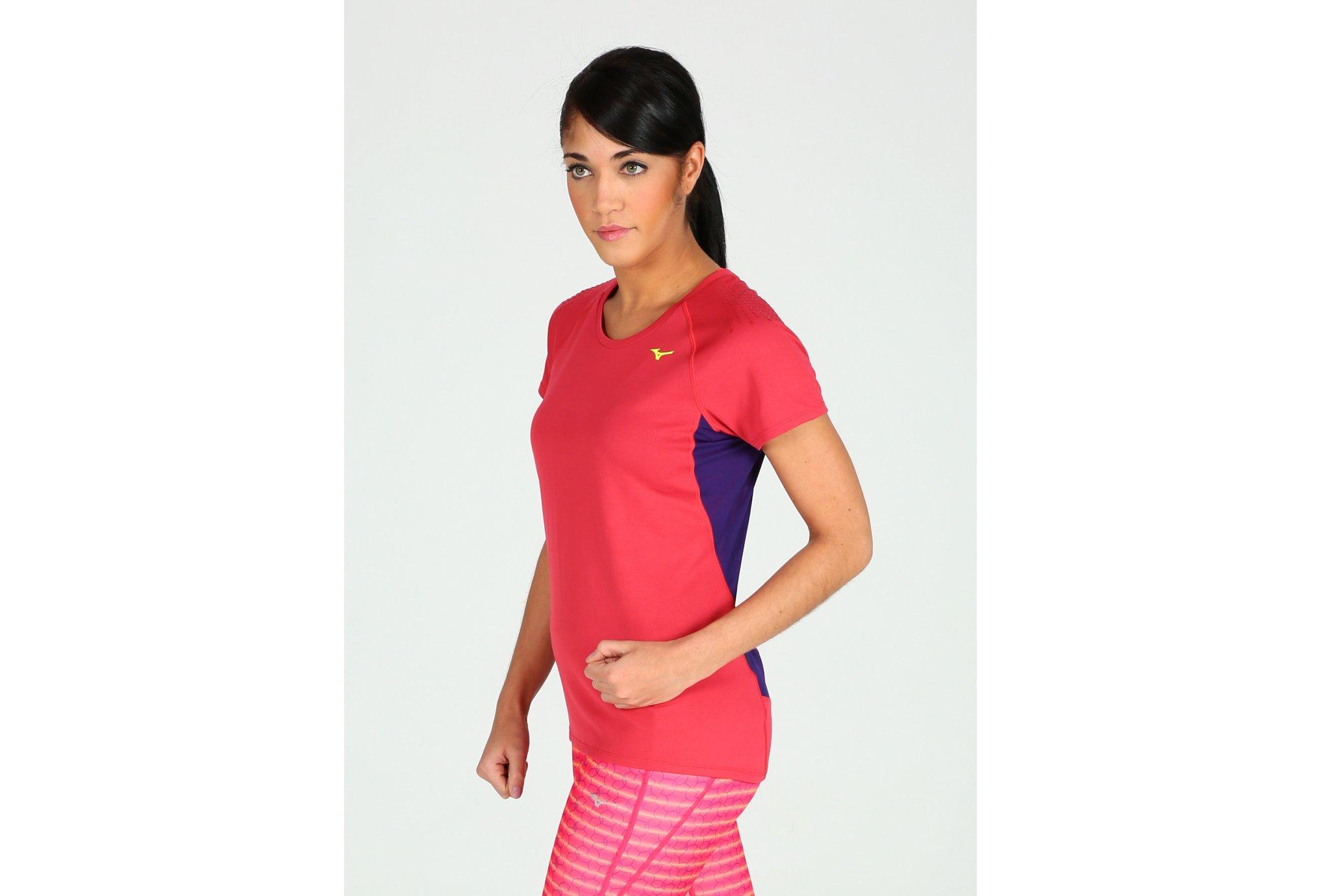 Mizuno Tee-Shirt Kazan W Diététique Vêtements femme