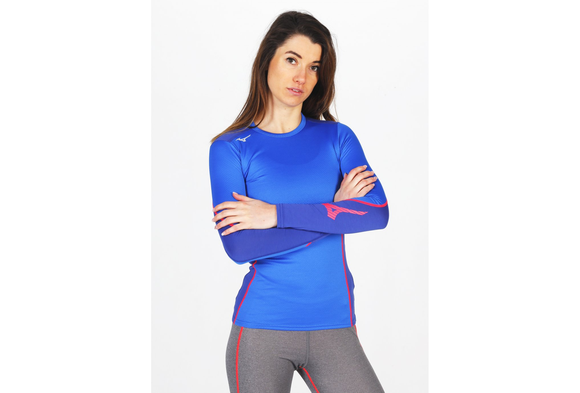 Mizuno Virtual Body G2 Crew W vêtement running femme