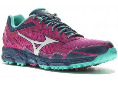 new concept ce25f 5ce09 Chaussures Mizuno Wave Daichi vertes femme Chaussures De Sécurité Travail  Haute Dike Raving Racy H S3
