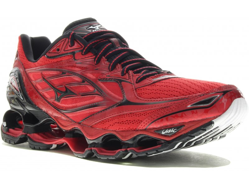 Homme 6 Chaussures M Route Mizuno Running Pas Prophecy Cher Wave SxPqwUqp