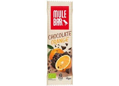 Mulebar Barre énergétique Bio Vegan - Chocolat/Orange