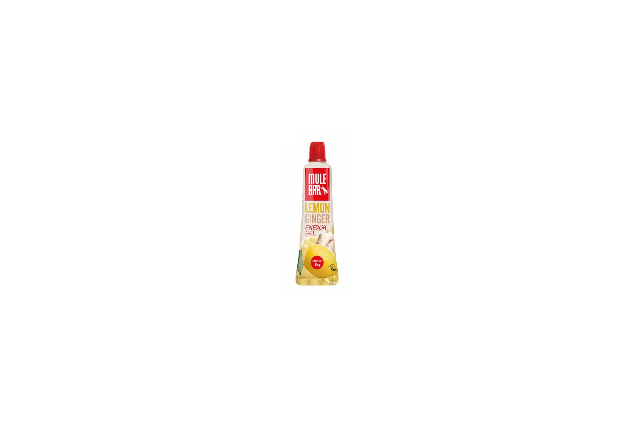 Mulebar Gel Energy Lemon Zinger Vegan - Citron/Gingembre Diététique Gels