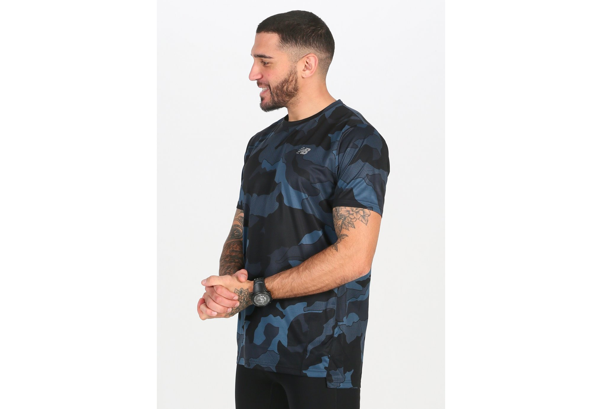 New Balance Accelerate Printed M vêtement running homme