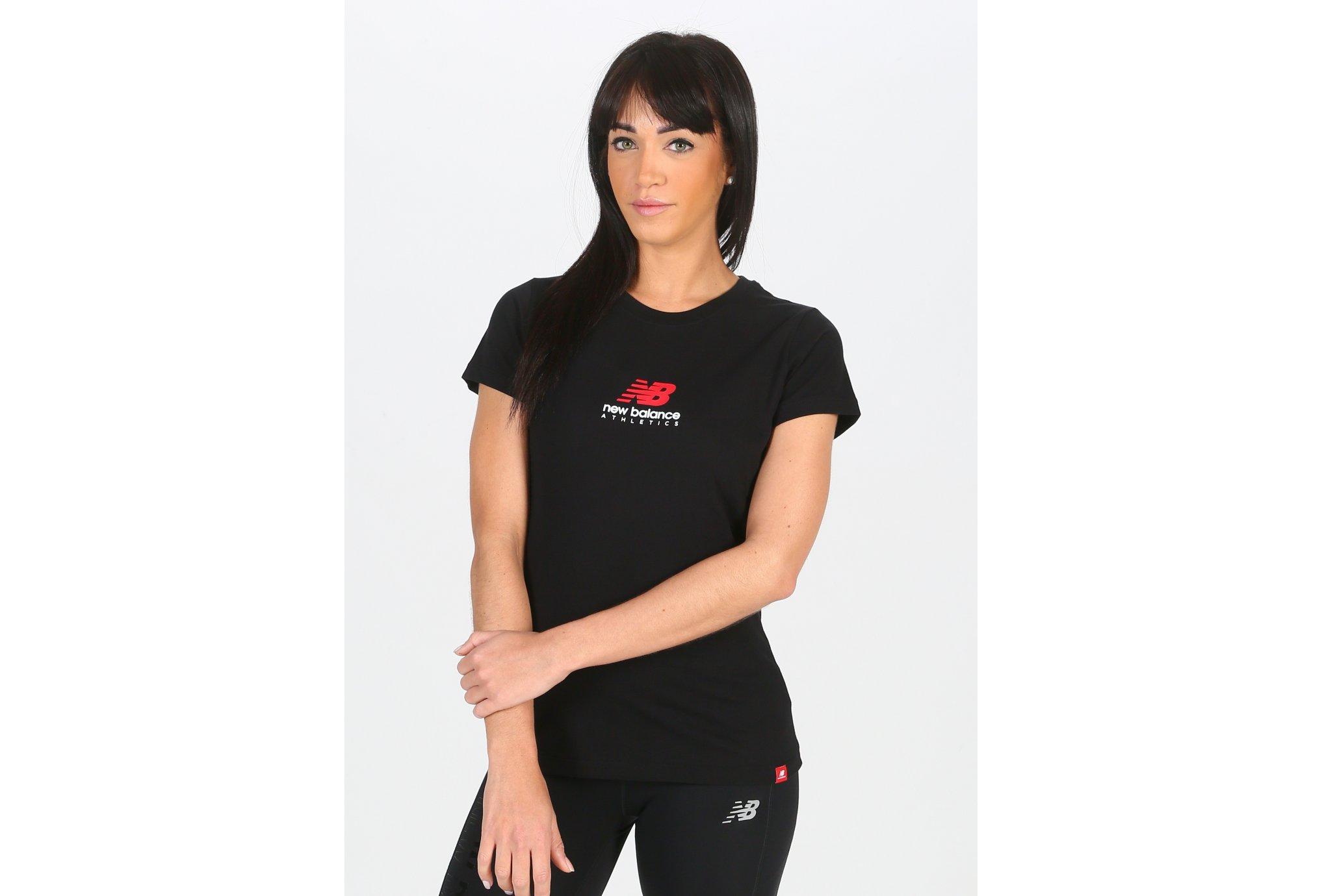 New Balance Essentials Icon Stacked W Diététique Vêtements femme