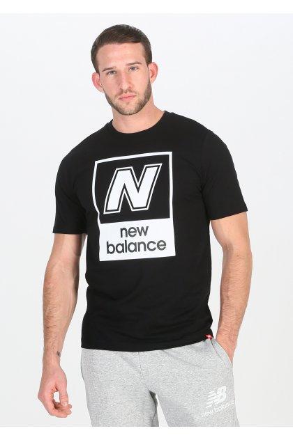 New Balance Camiseta manga corta Essentials N Box
