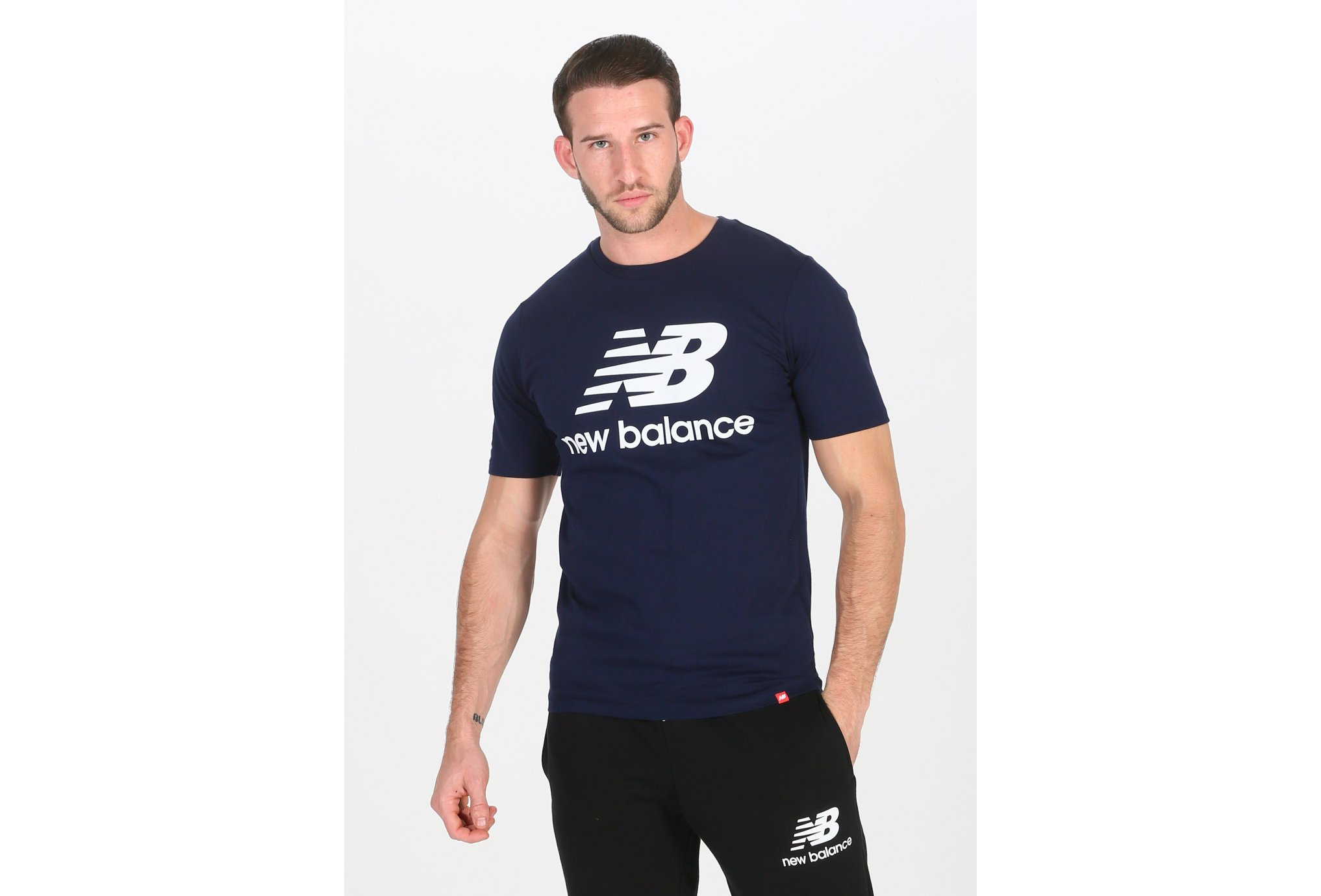 New Balance Essentials Stacked M Diététique Vêtements homme