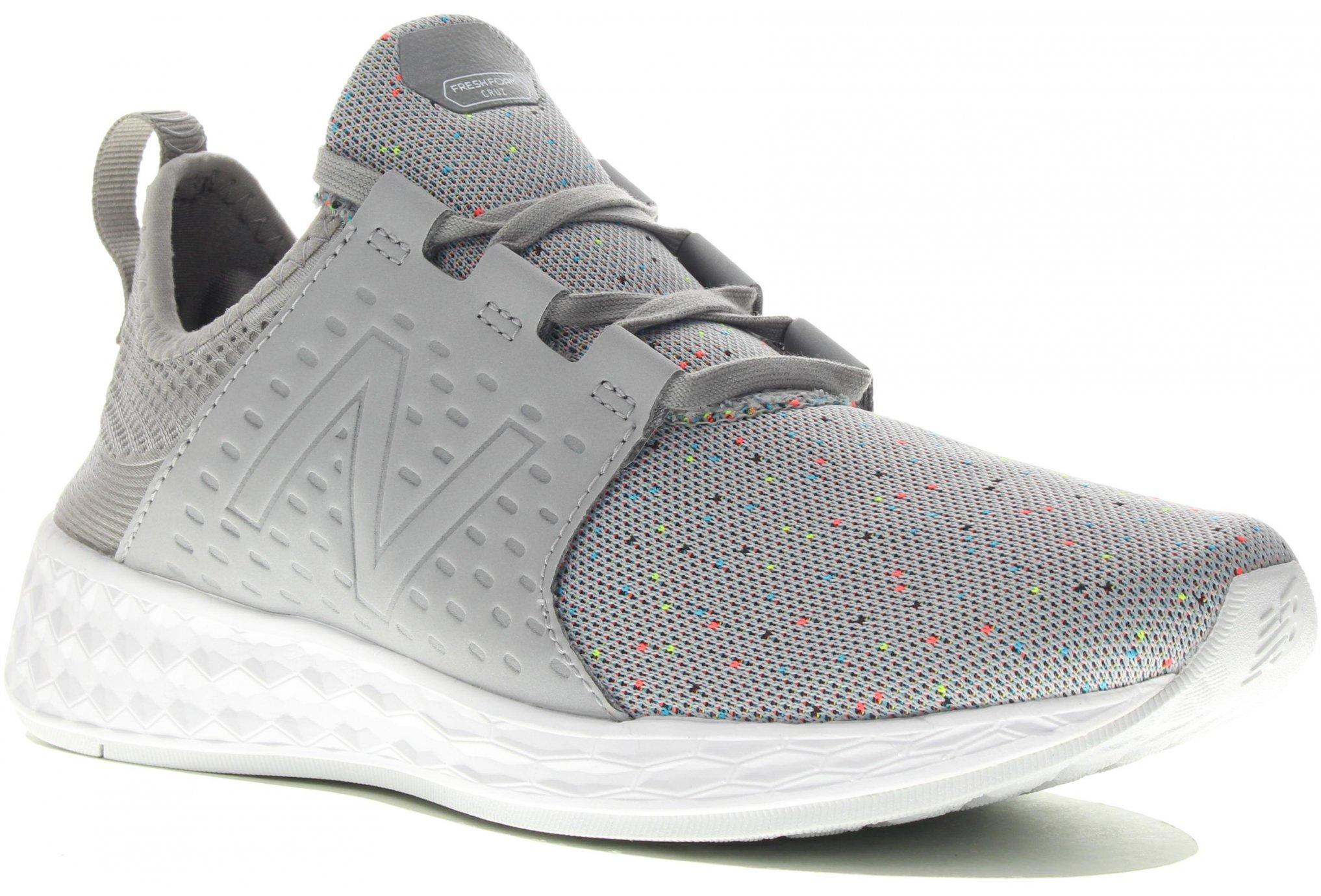 New Balance Fresh Foam Cruz Retro Hoodie W Chaussures running femme