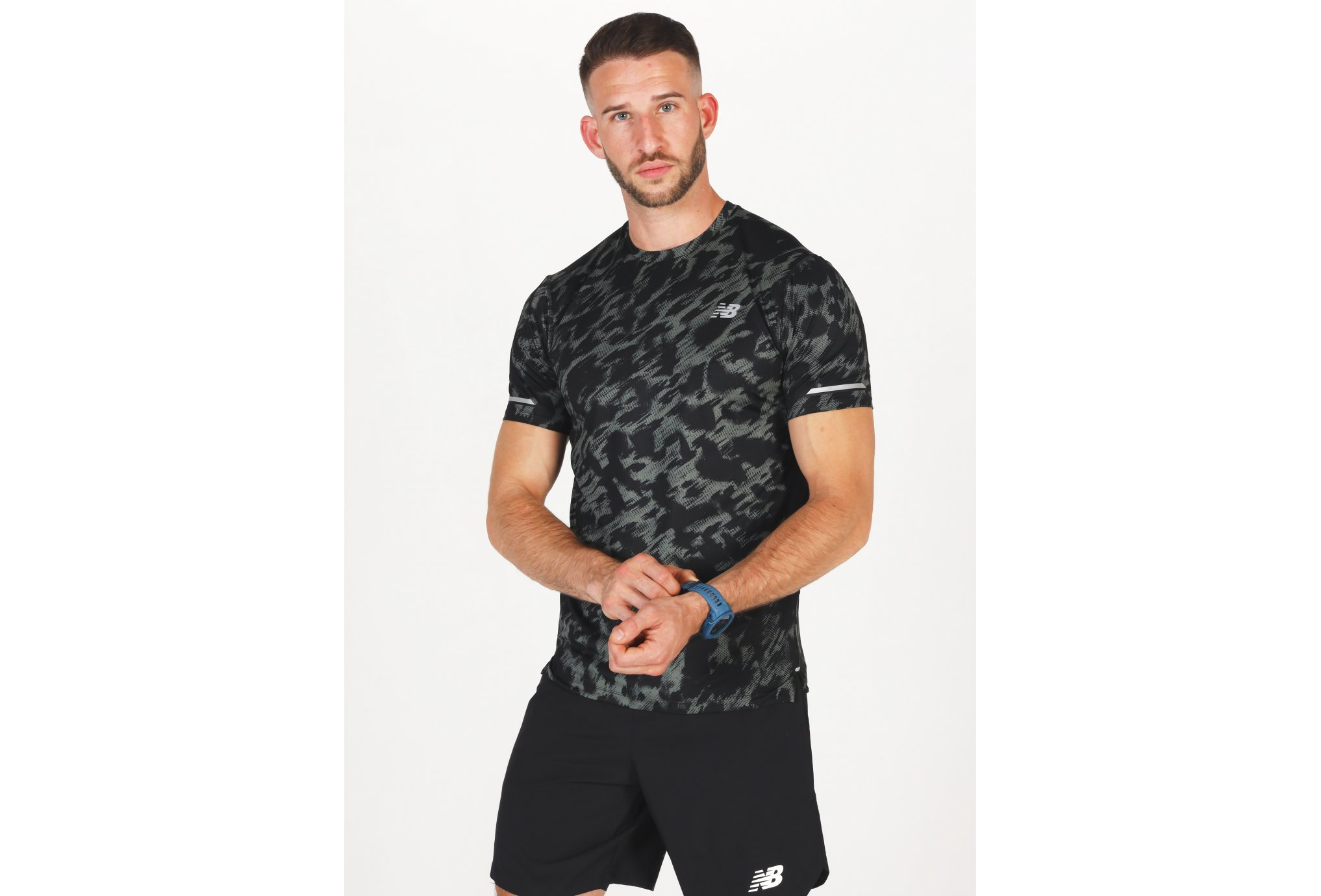 New Balance Ice 2.0 Print M vêtement running homme
