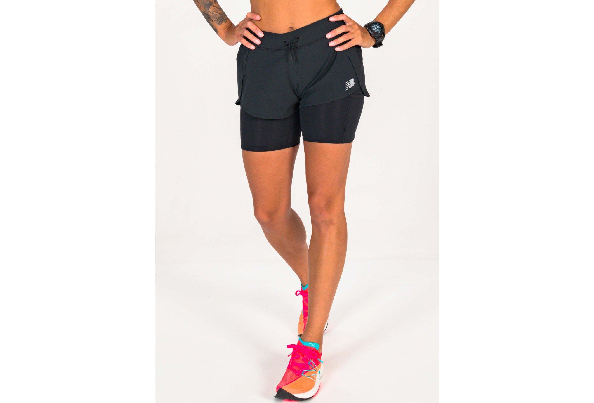 New Balance Impact Run 2 en 1 W vêtement running femme