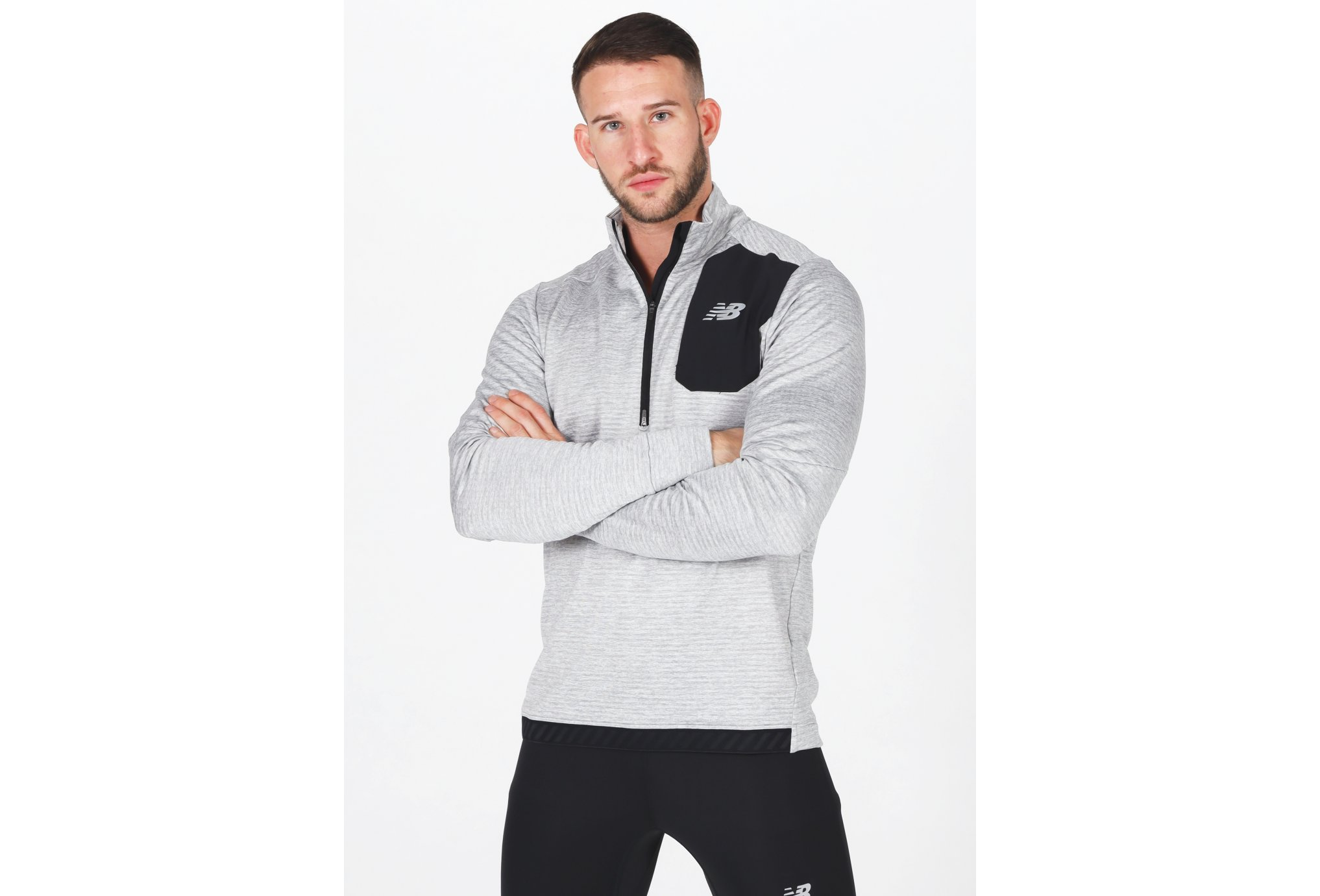 New Balance Impact Run Grid Back M vêtement running homme