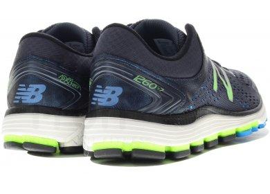 chaussures de running new balance nbx 1260 v7 bleu noir