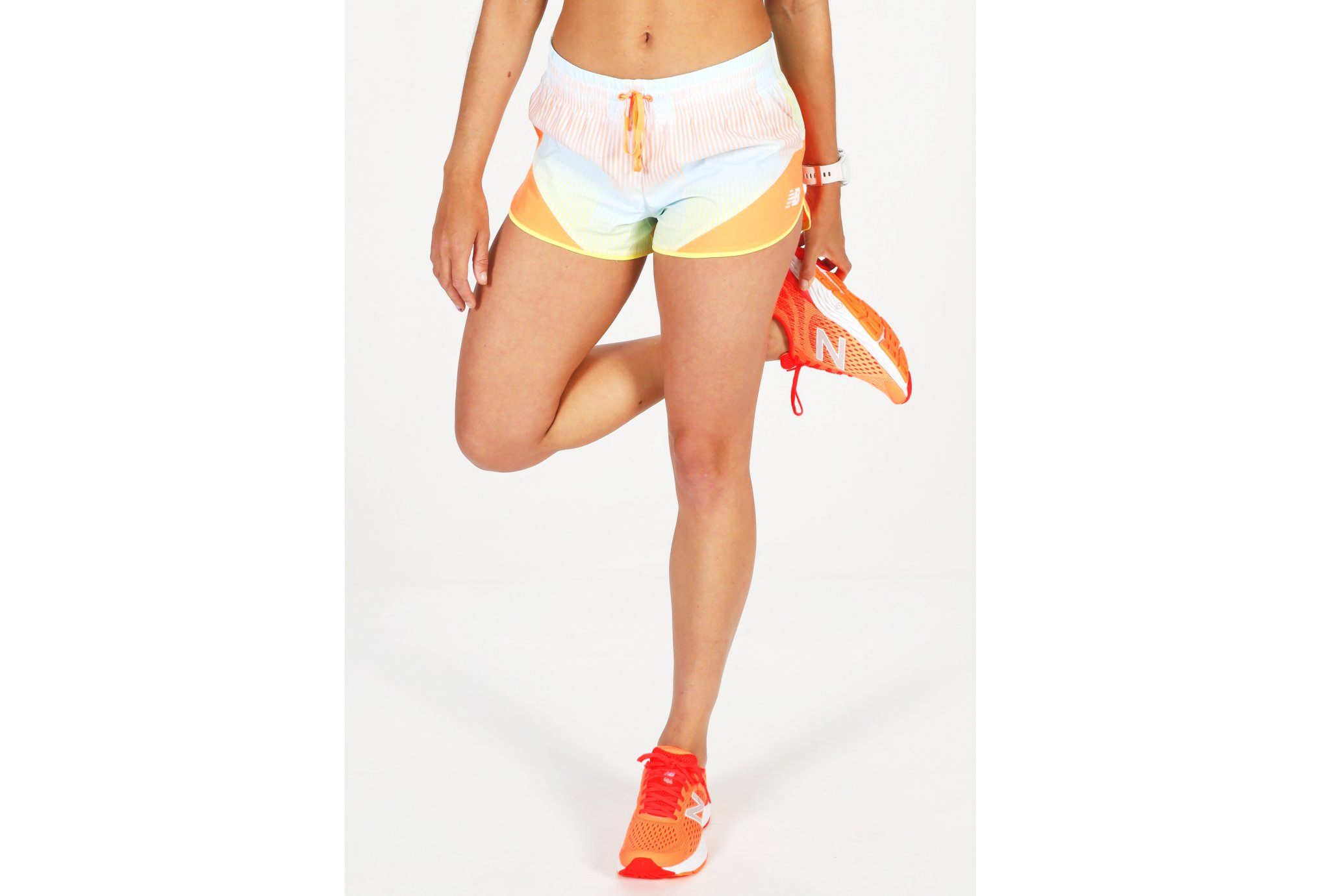 New Balance Printed Fast Flight Split W vêtement running femme