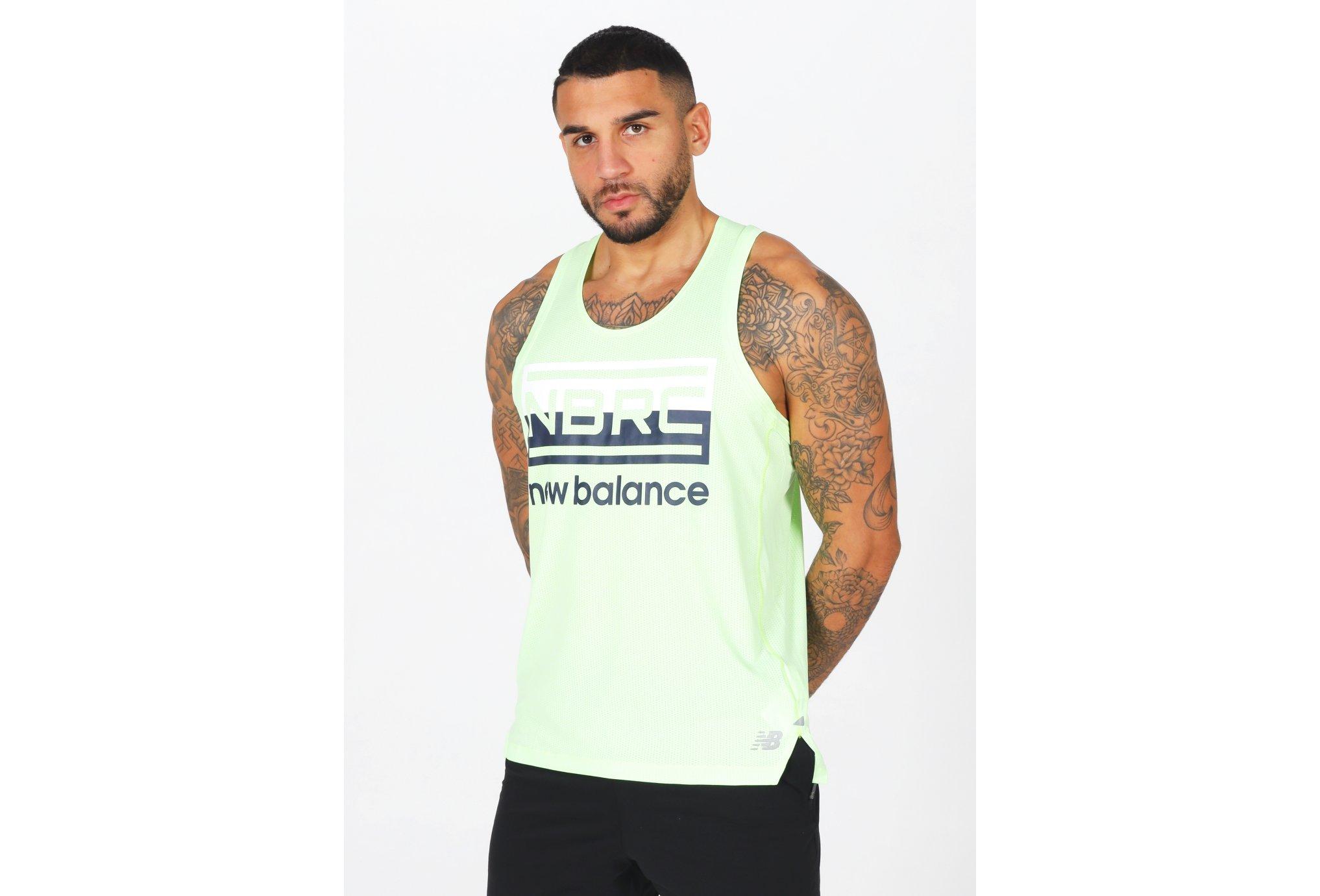 New Balance Printed Impact M Diététique Vêtements homme