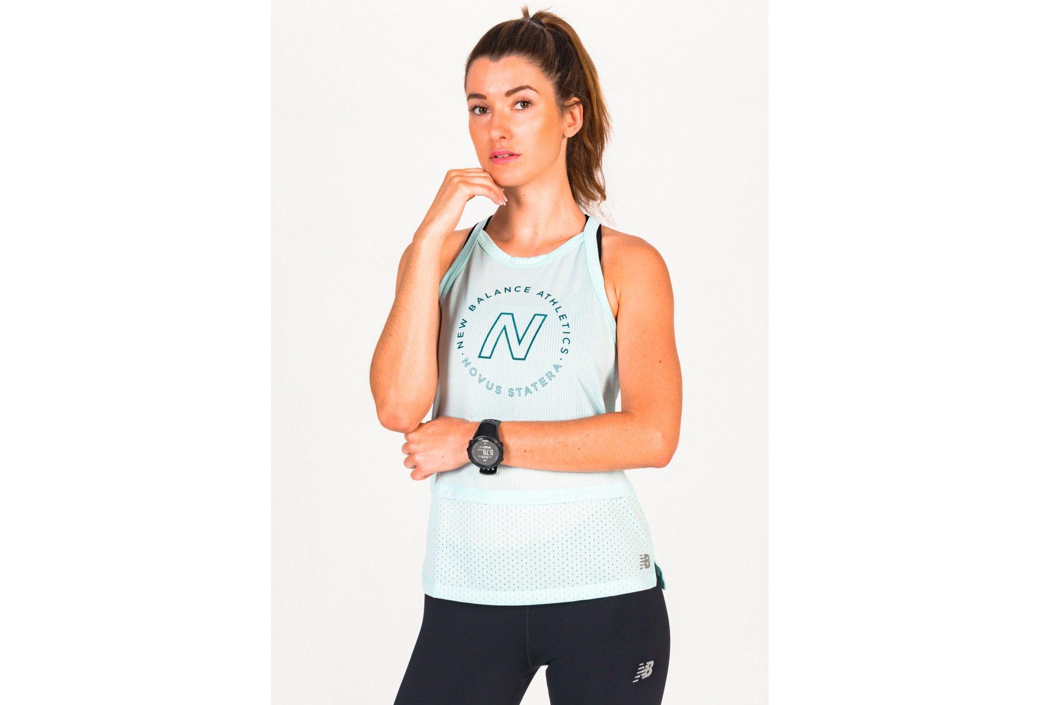 New Balance Printed Impact Run Hybrid W vêtement running femme