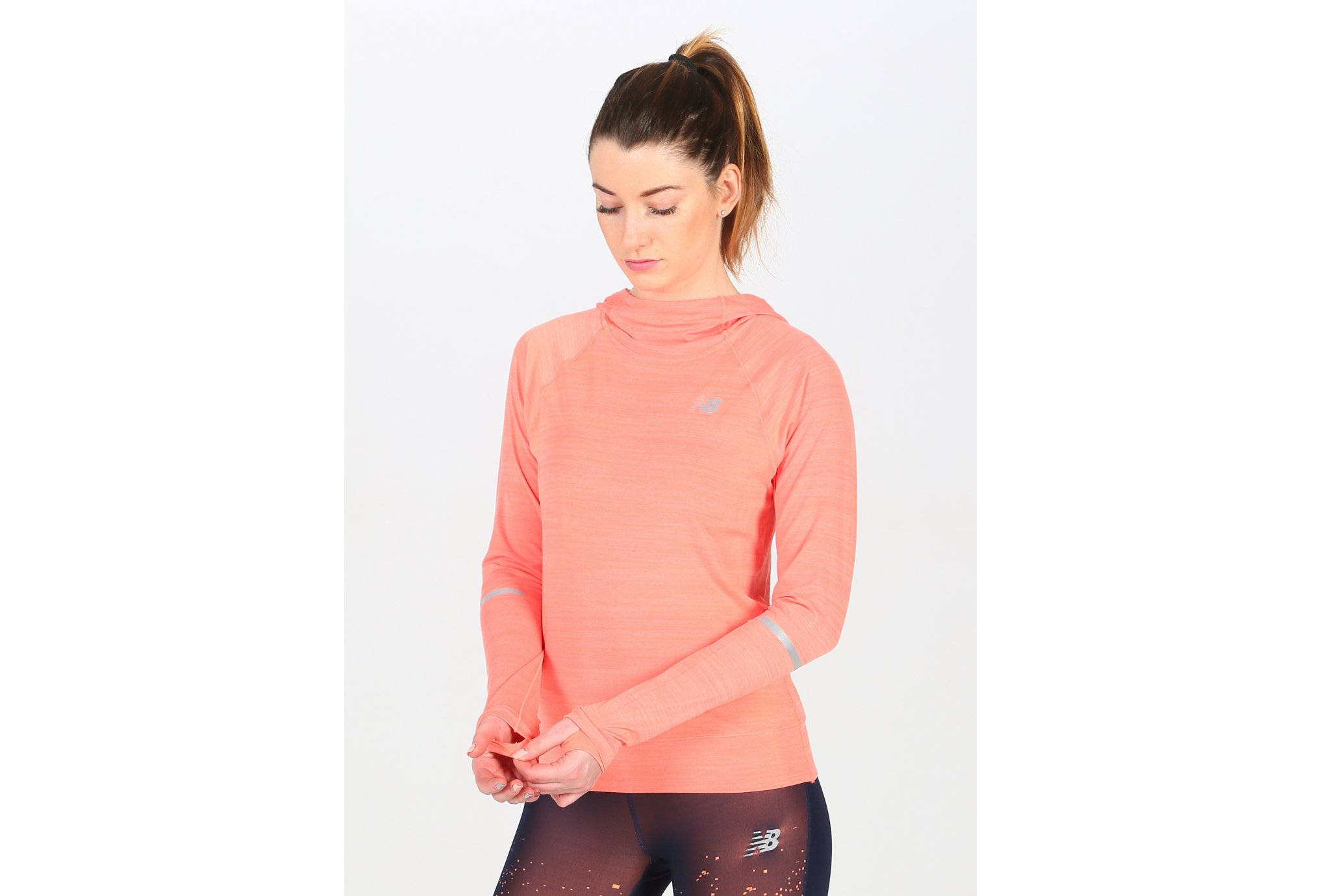 New Balance Seasonless Hoodie W vêtement running femme