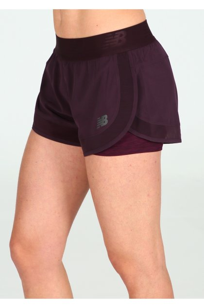 New Balance Pantalón corto Transform 2 in 1