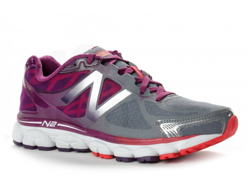 the latest 42dd2 ed6eb New Balance W 1080 V5 - B femme Violet pas cher