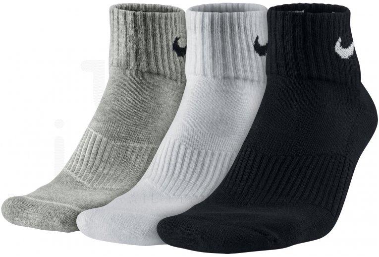 Nike 3 paires Cushion Quarter
