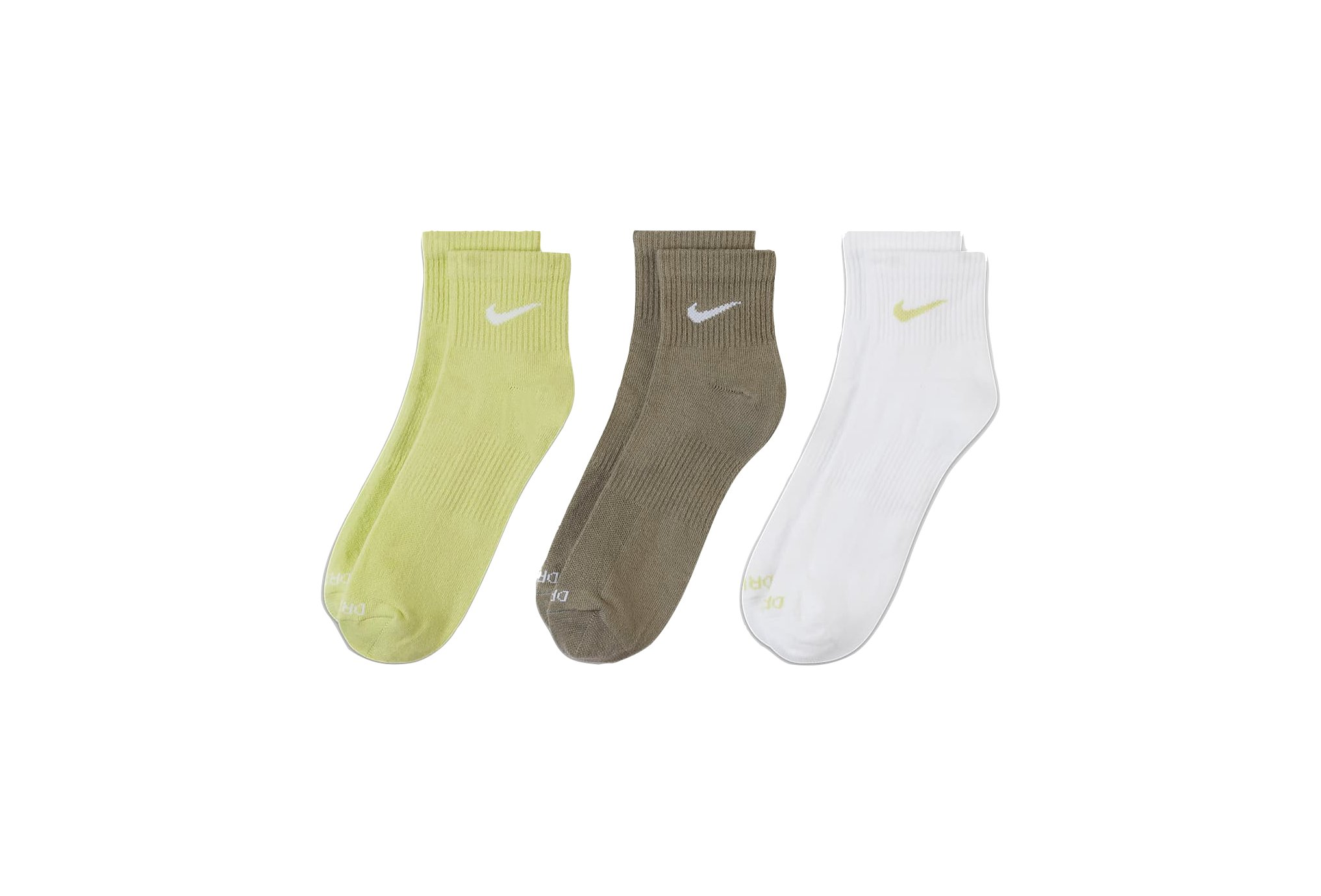Nike 3 paires Everyday Plus Lightweight Ankle Chaussettes
