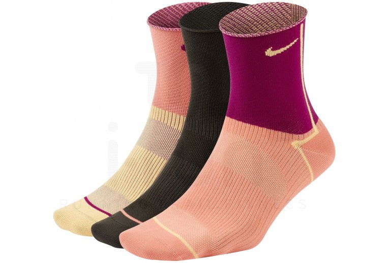 Nike 3 paires Everyday Plus Lightweight Ankle W