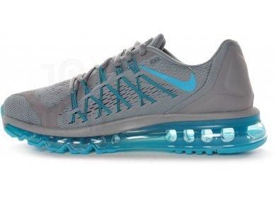 Nike Air Max 1 GS chaussures argent bleu turquoise dans le