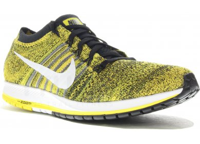7fe52e7b4d572 Nike Air zoom Flyknit Streak 6 Boston M homme Jaune or pas cher