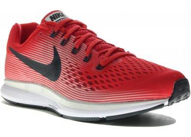 Nike Air Zoom Pegasus 34 M homme Rouge pas cher