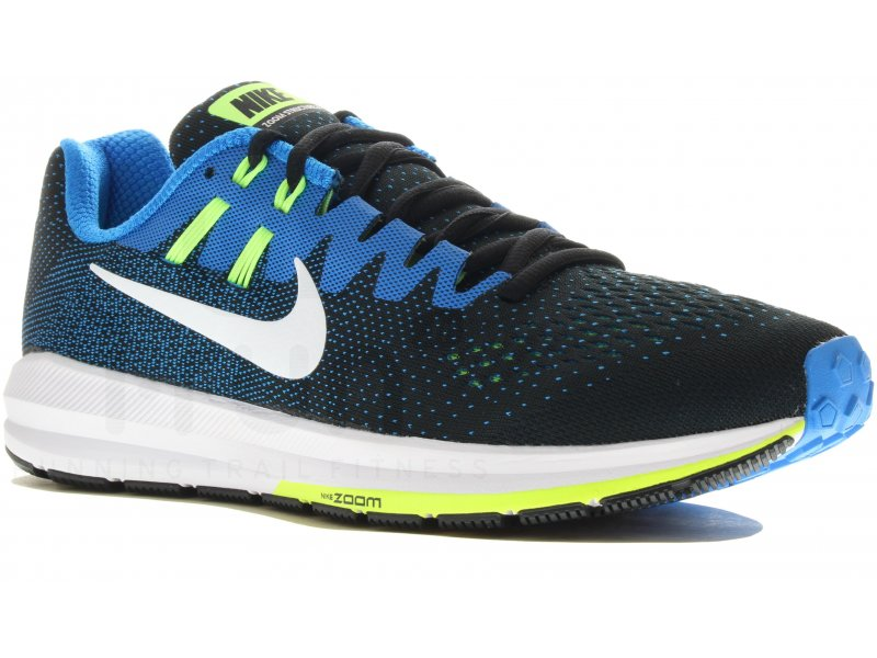 93afb40b29704 Nike Air Zoom Structure 20 M homme Bleu pas cher
