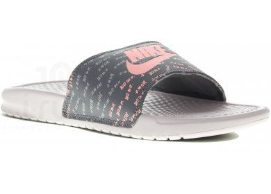 d617fabbcb3e2 Nike Benassi JDI Print W - Chaussures running femme running Tongs ...