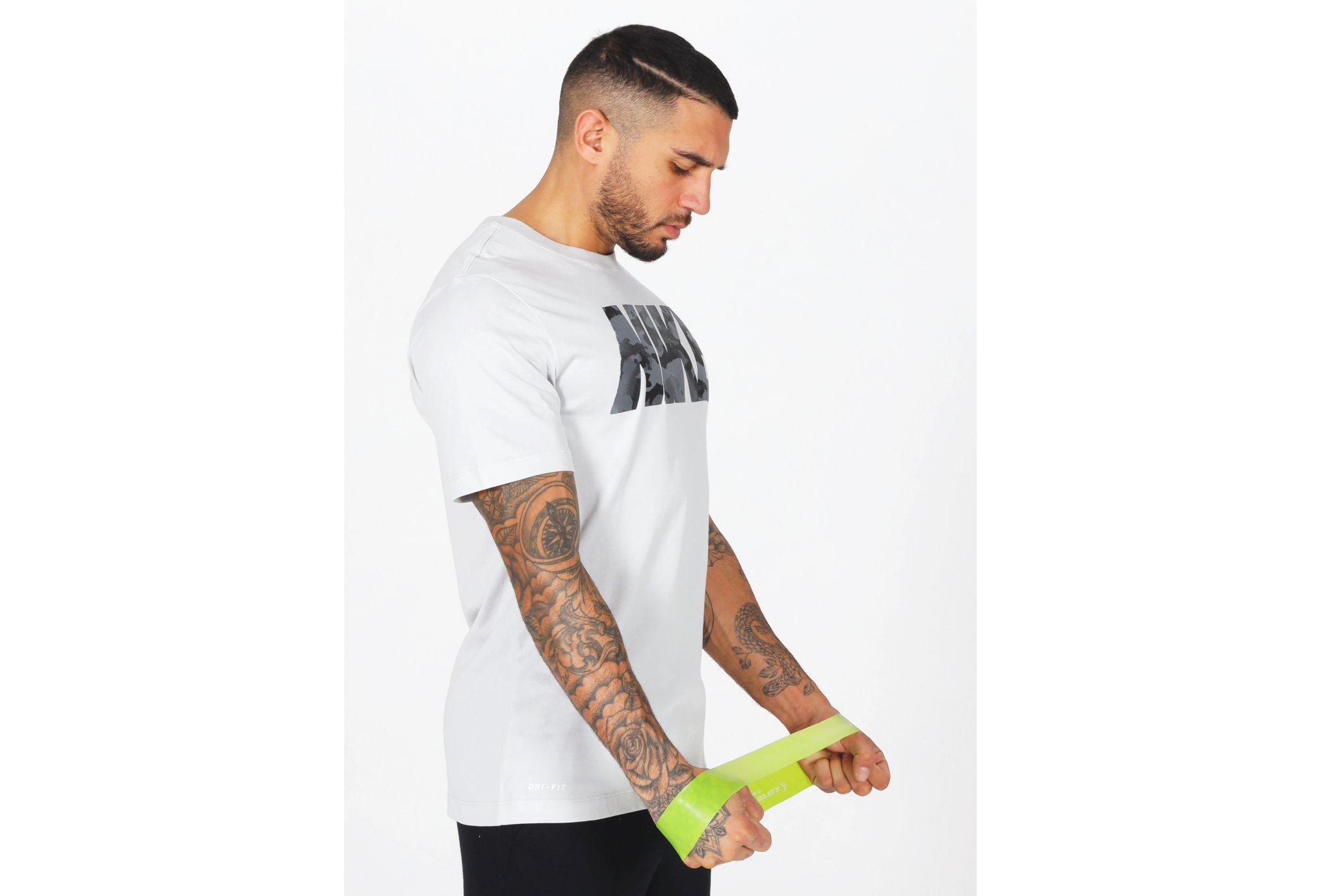 Nike Camo Logo M vêtement running homme
