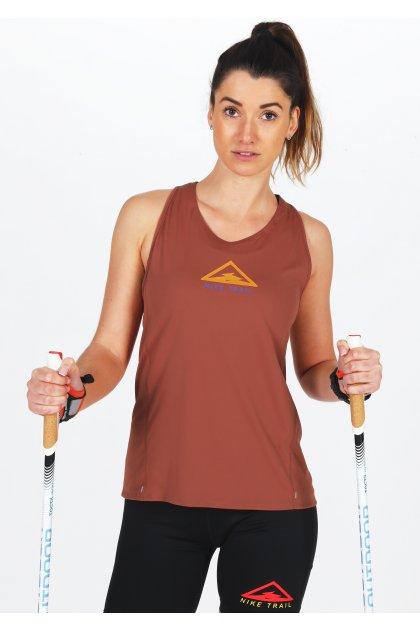 Nike camiseta de tirantes City Sleek Trail
