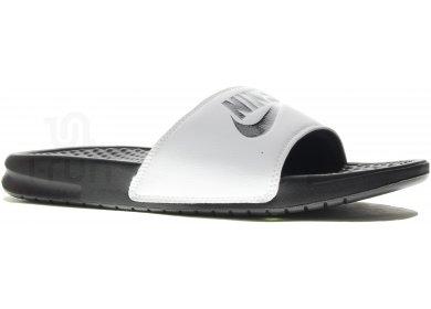 111e1c92bd6 Nike Claquettes Benassi JDI M homme Blanc pas cher