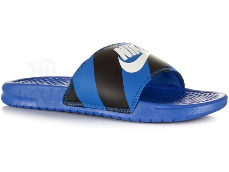 100% genuine buying cheap cheaper Nike Claquettes Benassi JDI Print M - Chaussures homme Tongs & Claquettes