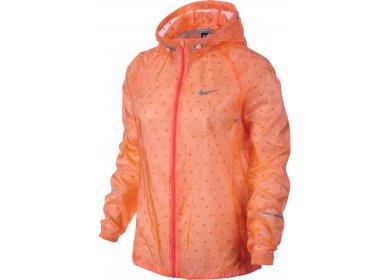 Nike Veste Windrunner W femme Orange pas cher