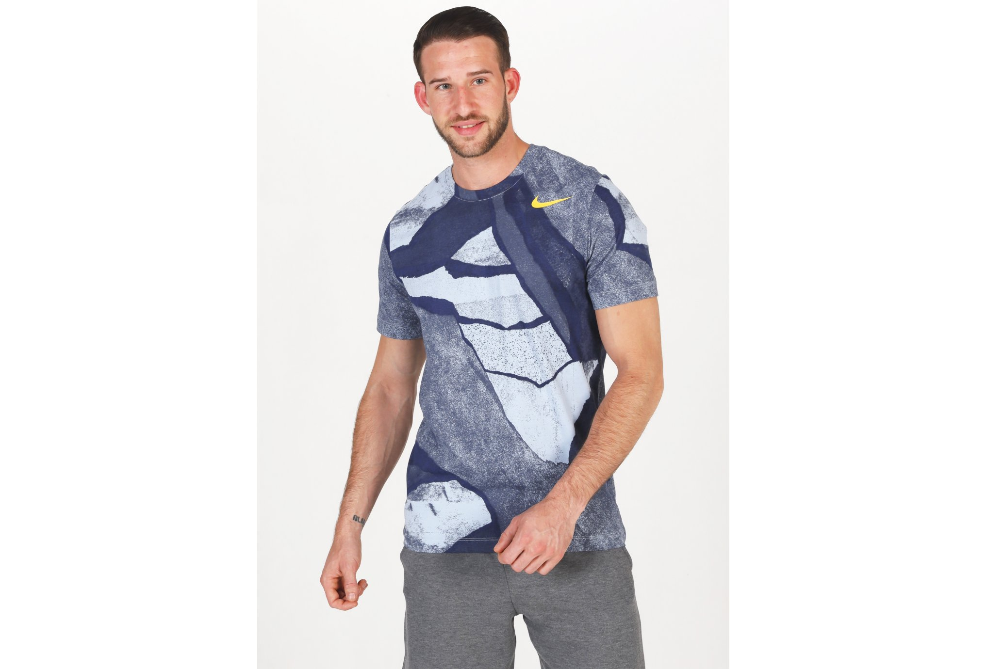 Nike Dri-Fit Seasonal AOP M vêtement running homme