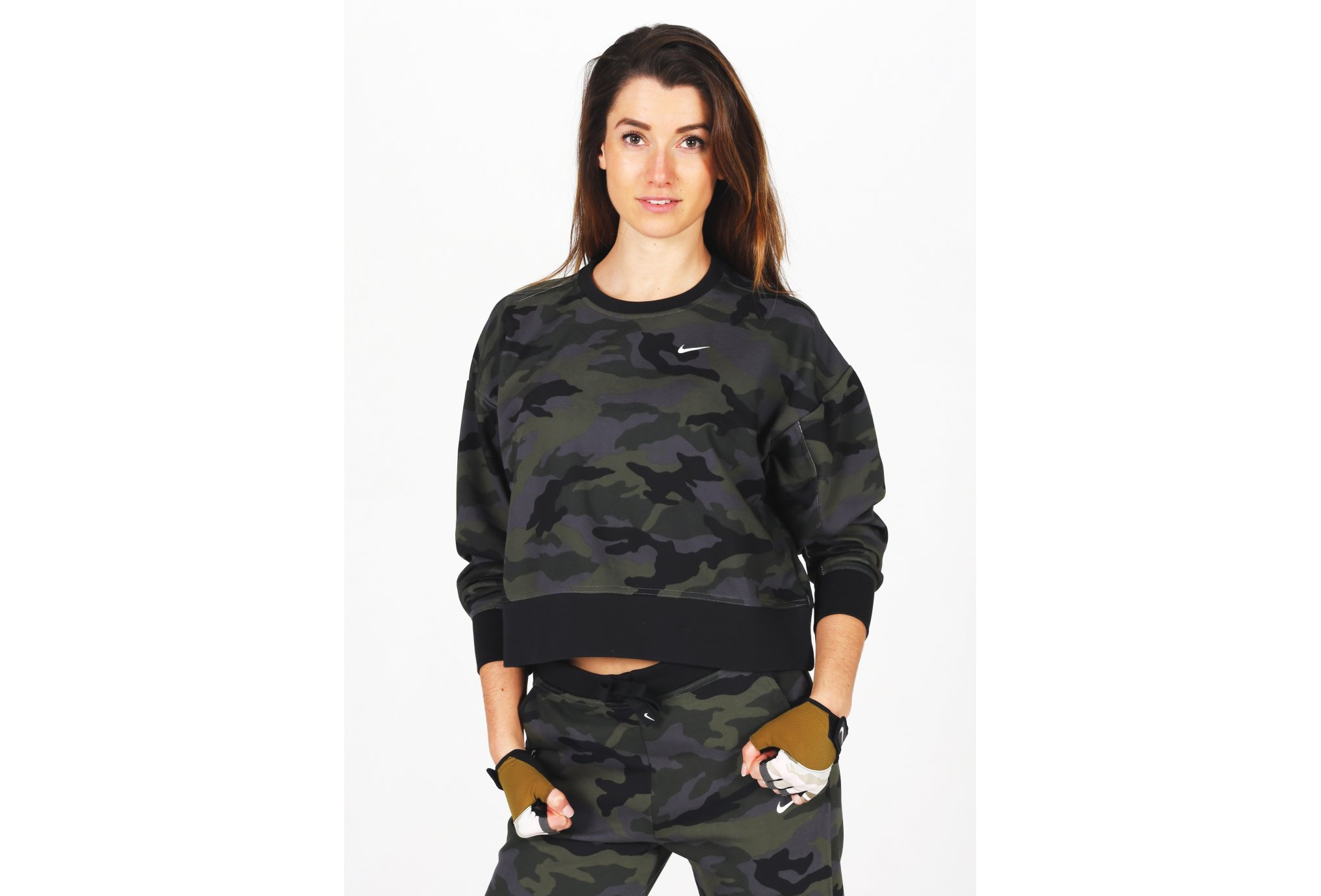 Nike Dry Get Fit Camo W vêtement running femme