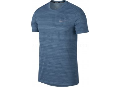 Nike Dry Homme Miler M Pas Cher Vêtements Homme Dry Running Manches Courtes af0dc3