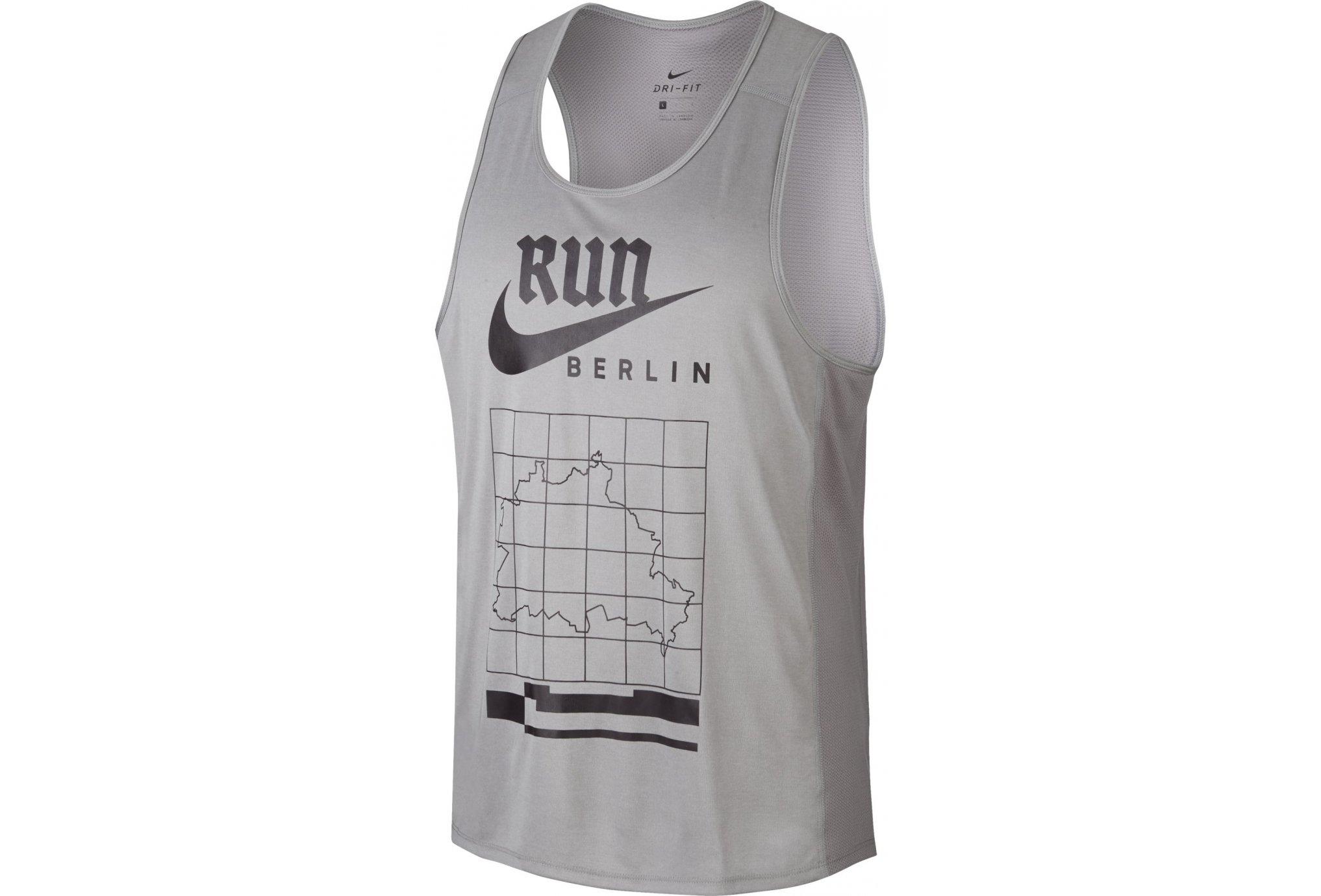 Nike Dry Miler Berlin M vêtement running homme