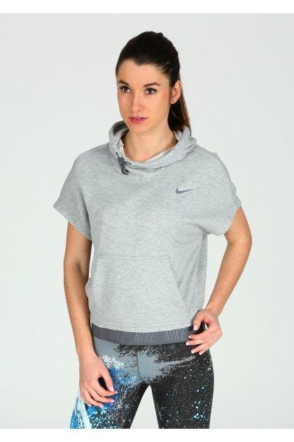 Nike Sudadera manga corta Dry Training Hoodie