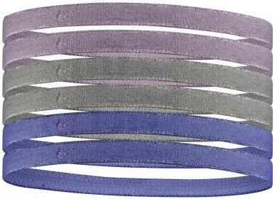 Nike Elastiques Headbands Metallic x6