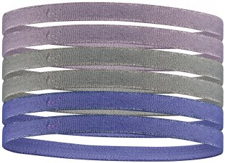 Nike 6 cintas para el pelo Metallic
