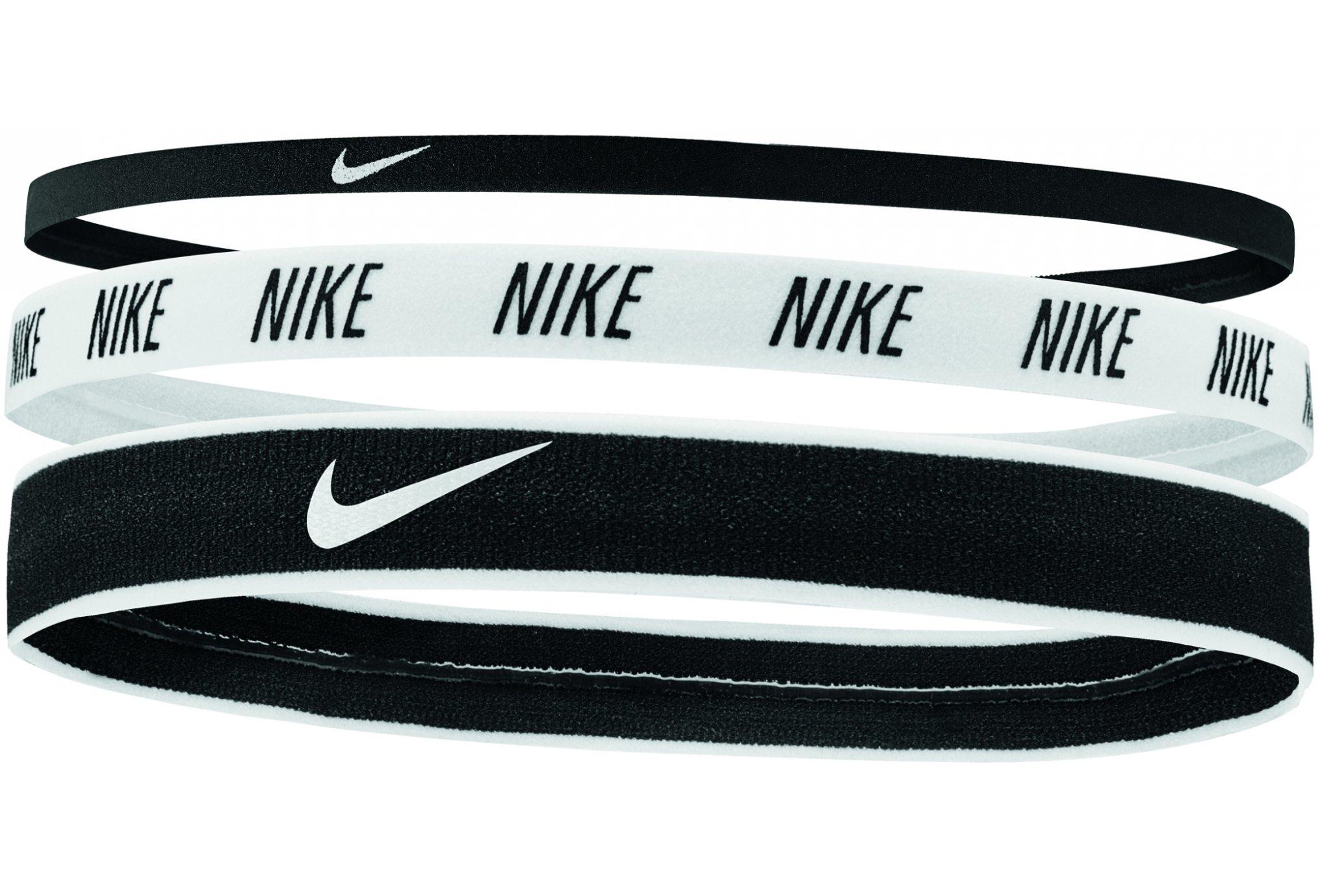Nike Élastiques Mixed Width X3 Casquettes / bandeaux