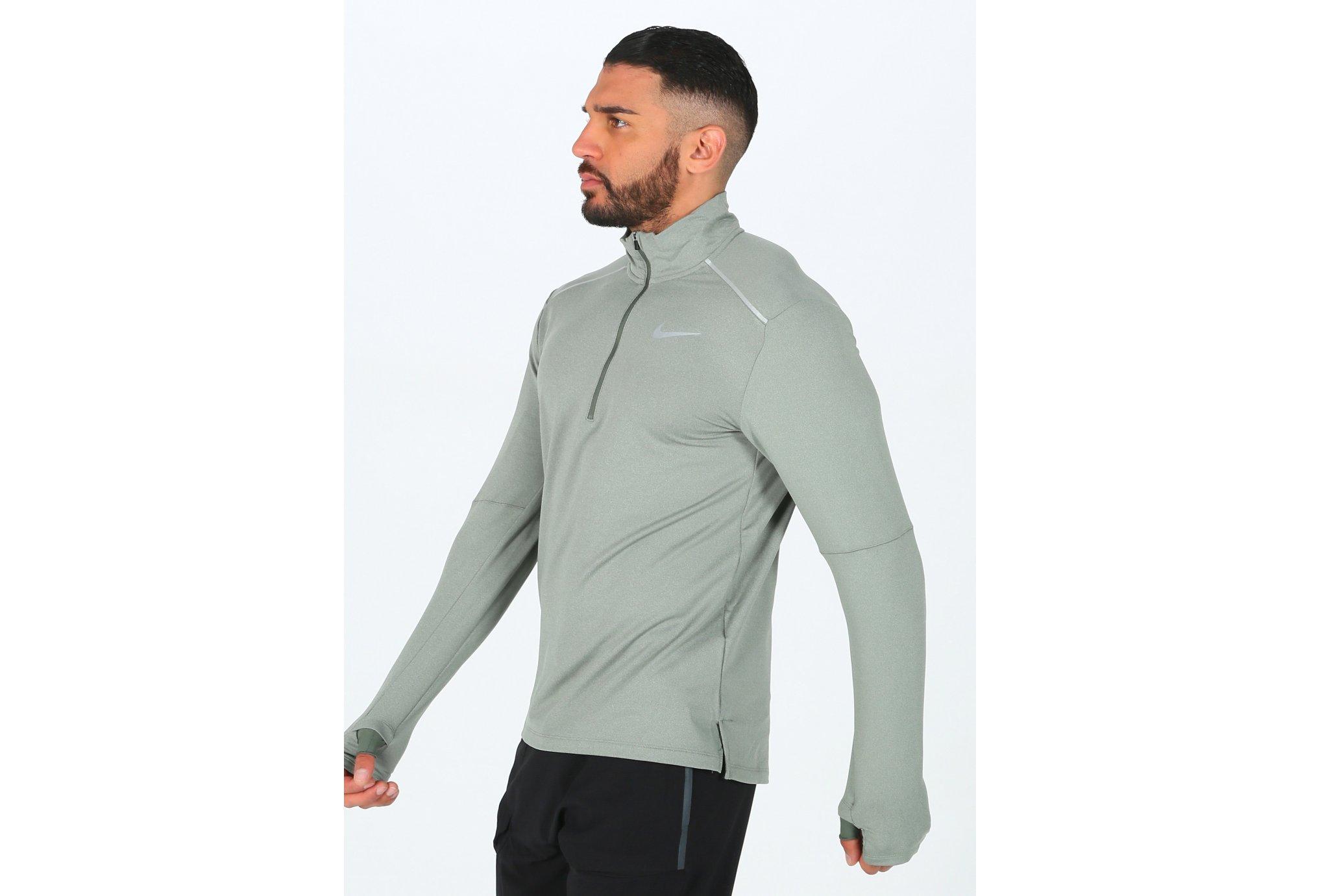 Nike Element Crew 3.0 1/2 Zip M Diététique Vêtements homme
