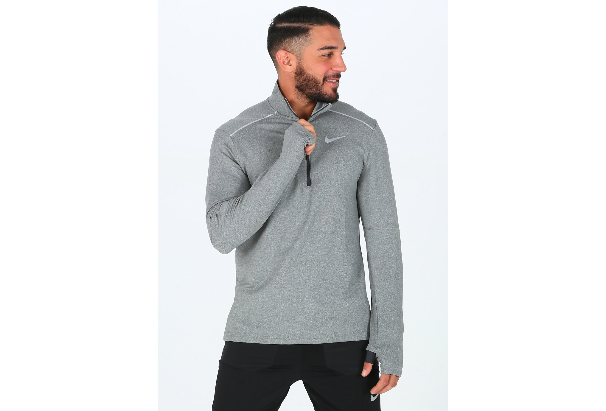 Nike Element Crew 3.0 1/2 Zip M vêtement running homme